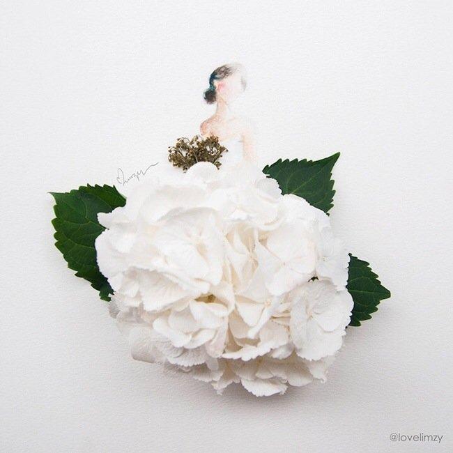 20140801 193644 70604301 เมื่อกลีบดอกไม้กลายเป็นชุดสวยชวนฝัน