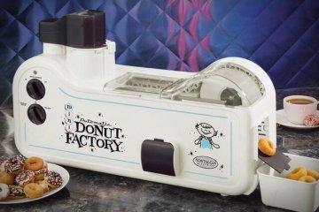 เครื่องทำโดนัทประจำบ้าน.. Mini Donut Factory 16 - ทำขนม