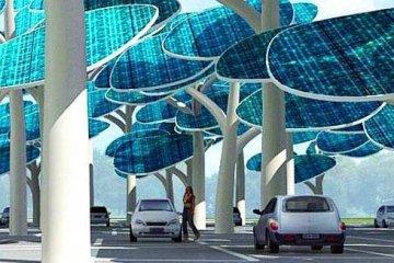 ป่าผลิตพลังงานแสงอาทิตย์ ..และที่จอดรถ