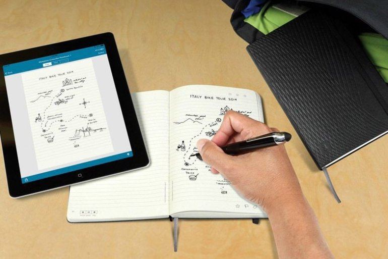 Smart pen เชื่อมโยงโลกเก่ากับใหม่ เขียนบนกระดาษไปเก็บไว้ใน tablet 15 - ipad