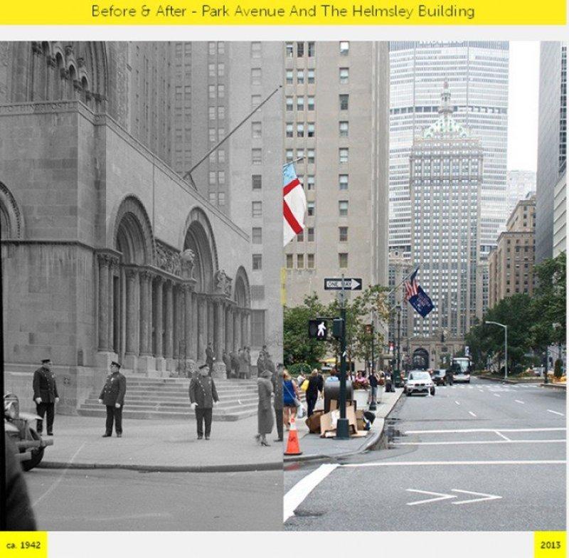 K4 NYC  GRID Before & After ภาพถ่ายเปรียบเทียบอดีต ปัจจุบัน