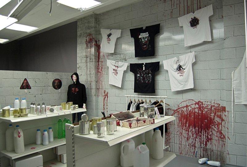 The Walking Dead Bloodstore ช็อปปิ้งร้านนี้ ต้องจ่ายเงินด้วย เลือด เท่านั้น