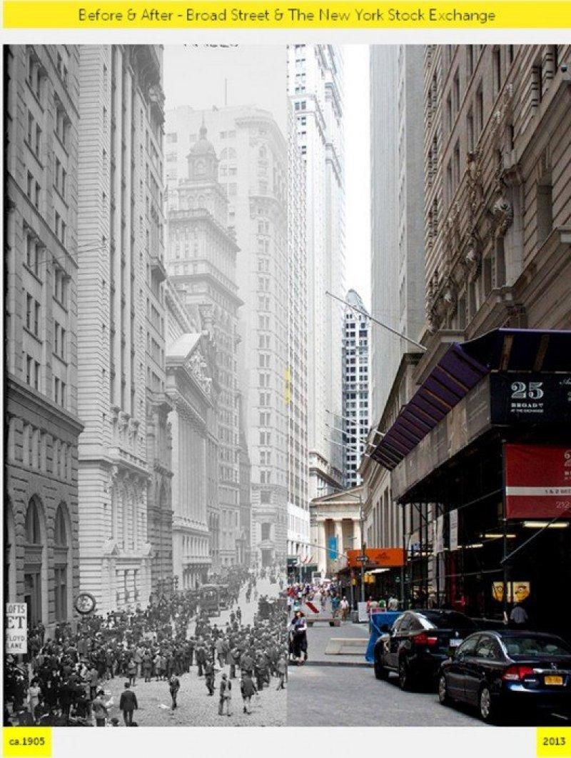 V5 NYC  GRID Before & After ภาพถ่ายเปรียบเทียบอดีต ปัจจุบัน
