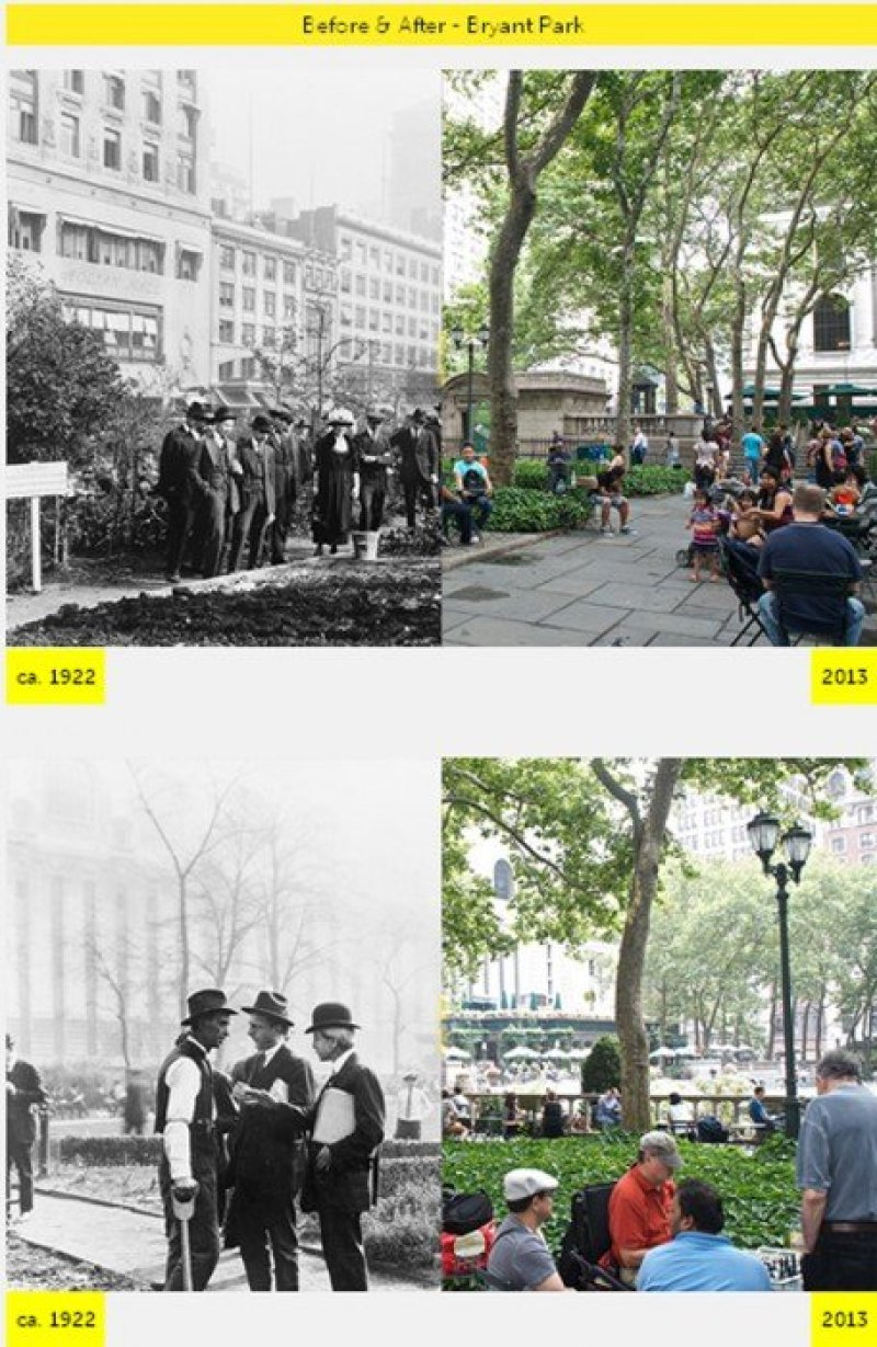 gg NYC  GRID Before & After ภาพถ่ายเปรียบเทียบอดีต ปัจจุบัน