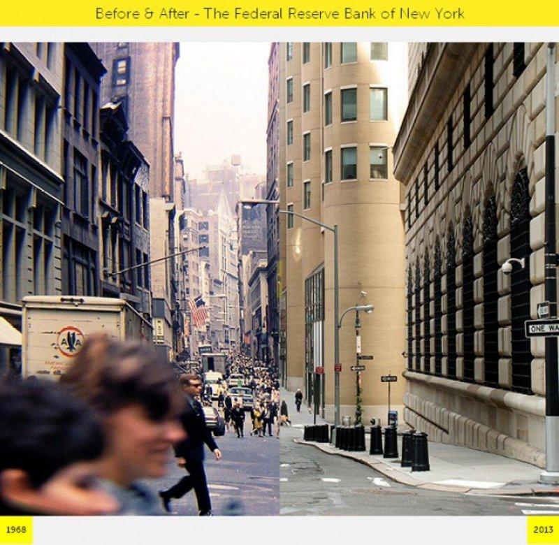 v3 NYC GRID Before & After ภาพถ่ายเปรียบเทียบอดีต ปัจจุบัน