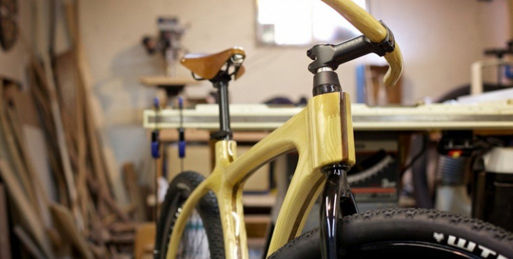 Connor Wood Bicycles จักรยานเฟรมไม้ Connor Wood Bicycles