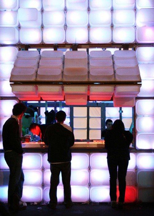 IMG 4833 สร้างบาร์หรือบู้ธชั่วคราวด้วยกล่องใส่ของ IKEA
