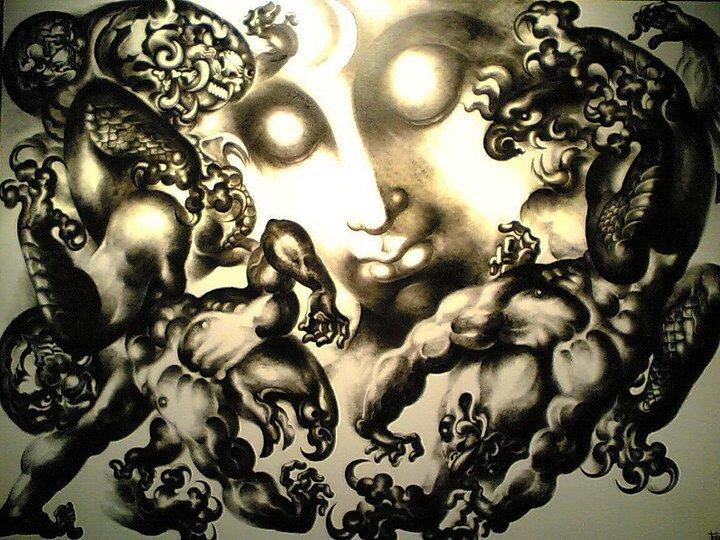 IMG 4931 ถวัลย์ ดัชนี ช่างวาดรูป ผู้นำพุทธปรัชญามาสู่พุทธศิลป์