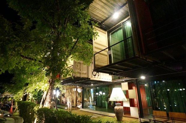 IMG 5132 650x431 SLEEP BOX Hotel แปลงตู้คอนเทนเนอร์ เป็นโรงแรมสุดชิค กลางเมืองเชียงใหม่