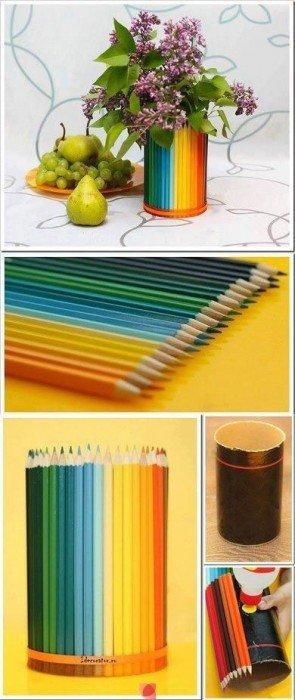 IMG 5310 ห่อของขวัญด้วยดินสอสี..