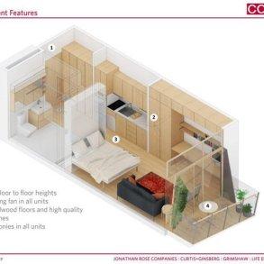 แนวคิดบ้านขนาดเล็กแบบยั่งยืน..พื้นที่บ้านเพียง 28 ตรม. แต่มีพื้นที่ส่วนกลางร่วมกันมาก 16 - Apartment
