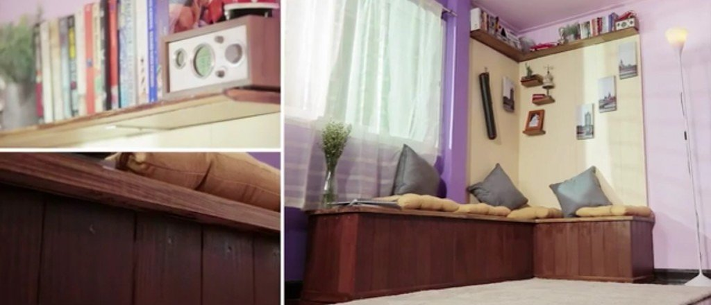 IMG 5446 DIY Smart Makeover มุมพักผ่อนริมหน้าต่าง