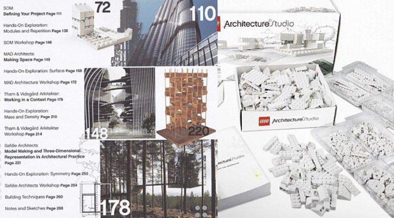 """""""เลโกสีขาว"""" ของเล่นสำหรับสถาปนิก 13 - Architecture"""