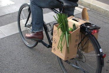 ตะกร้ากระดาษกล่อง..เพื่อนักปั่นในเมือง ใส่ของ จ่ายตลาด ดูดีมีสไตล์ 30 - จักรยาน