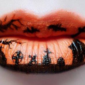 แต่งริมฝีปากเจ็บจี๊ด..รับ Halloween! 17 - Artist