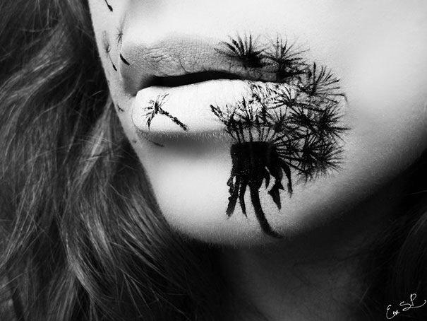 IMG 6213 แต่งริมฝีปากเจ็บจี๊ด..รับ Halloween!