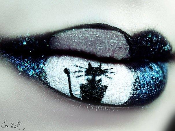 IMG 6214 แต่งริมฝีปากเจ็บจี๊ด..รับ Halloween!