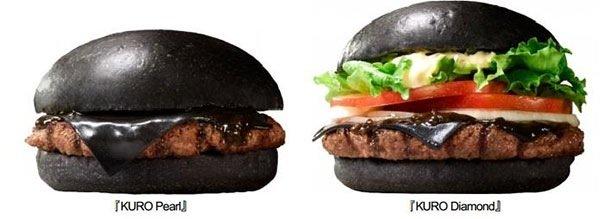 IMG 6424 Black Burger.. เบอร์เกอร์ สีดำ เทรนที่กำลังมาแรงในญี่ปุ่น