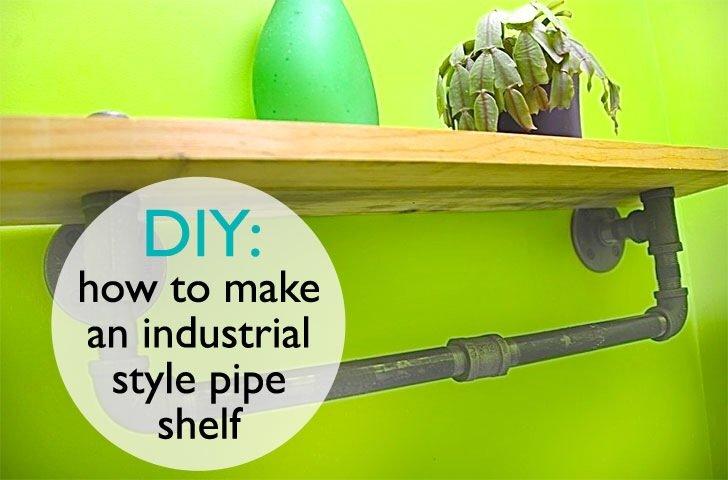 DIY: ทำชั้นวางของจากท่อน้ำเหล็ก..แนวอินดัสเทรียล 13 - DIY