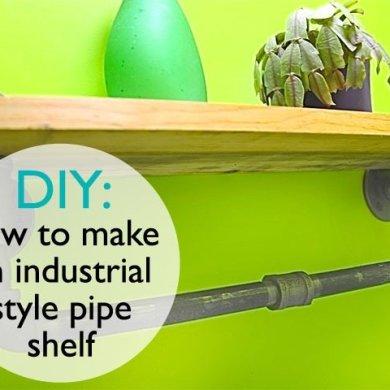 DIY: ทำชั้นวางของจากท่อน้ำเหล็ก..แนวอินดัสเทรียล 16 - DIY