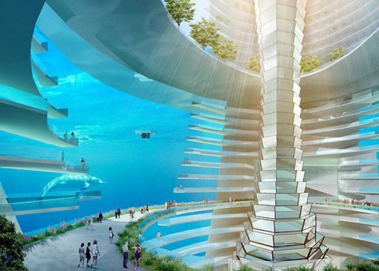 The Floating City มหานครลอยน้ำ 13 - Architecture