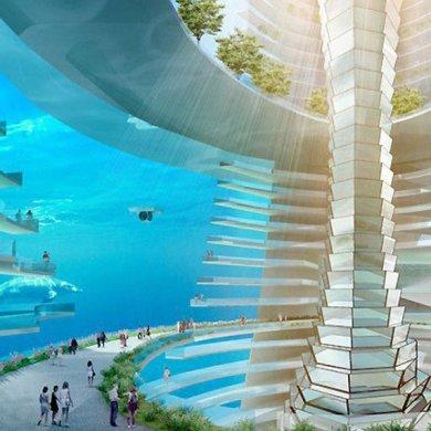 The Floating City มหานครลอยน้ำ 16 - Architecture