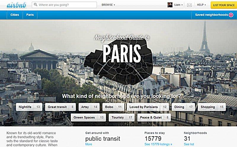 airbnb paris e1371106864177 copy Airbnb เว็บสำหรับหาที่พัก สำหรับนักเดินทาง