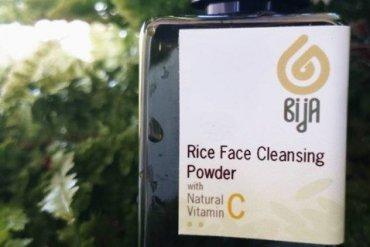 ผงล้างหน้าที่ทำมาจากแป้งข้าวจ้าว (RiceFaceCleansingPowder) 12 - bijaherbal