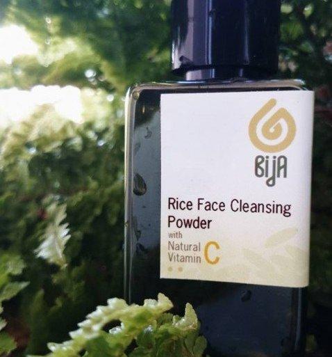 ผงล้างหน้าที่ทำมาจากแป้งข้าวจ้าว (RiceFaceCleansingPowder) 13 - bijaherbal