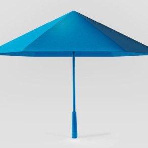 ร่ม รูปทรงเรขาคณิต เหมือนงานพับกระดาษ Origami เบากว่า แข็งแรงกว่า สวยแปลกตา 17 - origami