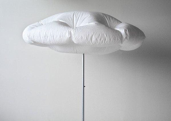 ร่มที่กางได้เอง กลายเป็นก้อนเมฆ เมื่อโดนแสงแดด 13 - Clouds
