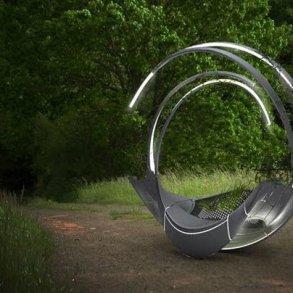 ม้านั่งผลิตจากชิ้นส่วนรีไซเคิลเครื่องบิน ดูแลตัวเอง ทั้งแสงสว่าง และน้ำหล่อเลี้ยงต้นไม้ 15 - Airplane