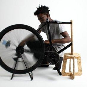 เครื่องเหวี่ยงเพื่อหาปริมาณเม็ดเลือดแดงราคาถูกทำจากล้อจักรยาน เพื่อช่วยผู้ป่วยอัฟริกันในเขตห่างไกล 15 - Africa