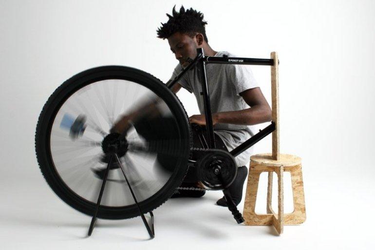 เครื่องเหวี่ยงเพื่อหาปริมาณเม็ดเลือดแดงราคาถูกทำจากล้อจักรยาน เพื่อช่วยผู้ป่วยอัฟริกันในเขตห่างไกล 28 - จักรยาน