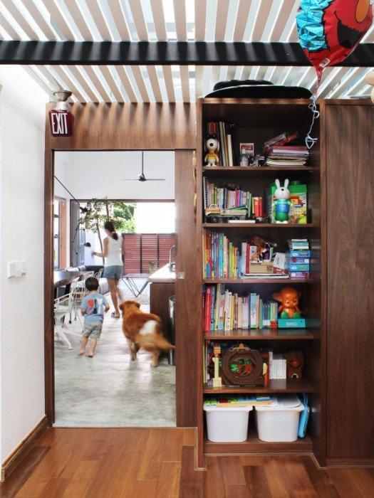 IMG 7437 ปรับปรุงทาวน์เฮาส์เก่า 60ปี เป็นบ้านสมัยใหม่ พื้นคอนกรีต สว่าง โปร่ง โล่ง