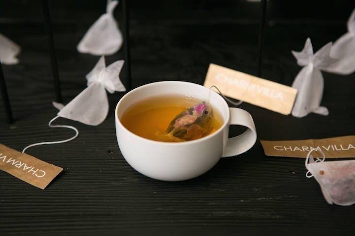IMG 7632 0 ถุงชารูปปลาทอง ประสบการณ์ใหม่ๆของการดื่มชา