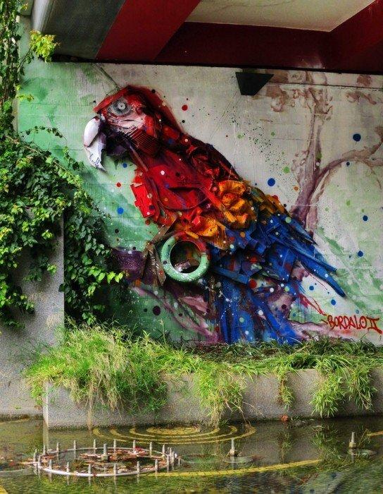 IMG 7832 รีไซเคิล ขยะ ให้เป็นงานศิลปะ 3D Street Art