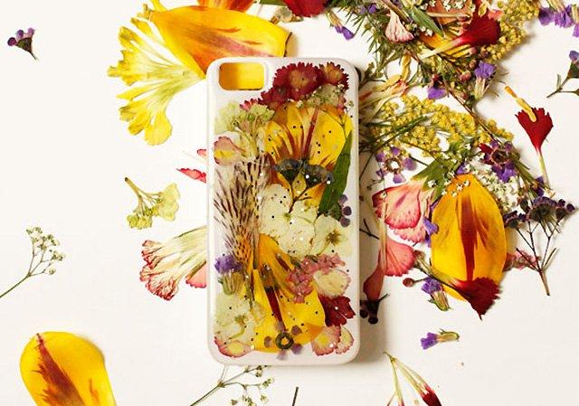 DIY: แต่งเคสมือถือด้วยดอกไม้จริง 19 - iPhone