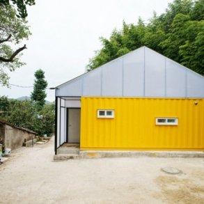 บ้านราคาประหยัด จากตู้คอนเทนเนอร์ 24 - container