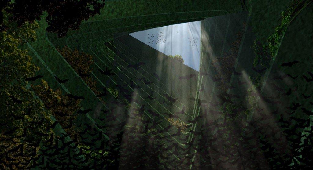 IMG 8595 Sea Trees ..ป่าลอยน้ำ ที่พักพิงสำหรับสิ่งมีชีวิตในธรรมชาติ ในเขตเมืองหนาแน่น