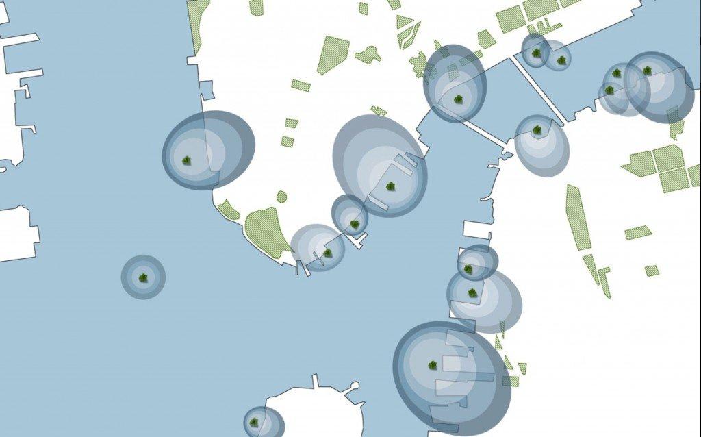 IMG 8599 Sea Trees ..ป่าลอยน้ำ ที่พักพิงสำหรับสิ่งมีชีวิตในธรรมชาติ ในเขตเมืองหนาแน่น