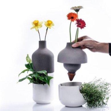 เมื่อกระถางประหยัดน้ำ อยู่ร่วมกับแจกันดอกไม้ เกื้อกูลกันและกัน ..อย่างงดงาม 15 - Planter