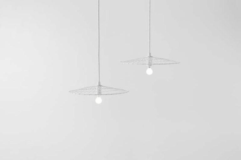 Basket Lamp โคมไฟที่ใช้เทคนิคการตัดอุปกรณ์การทอดเต้าหู้ 13 - Art & Design