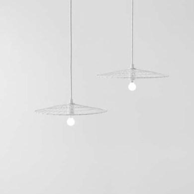 Basket Lamp โคมไฟที่ใช้เทคนิคการตัดอุปกรณ์การทอดเต้าหู้ 15 - Art & Design