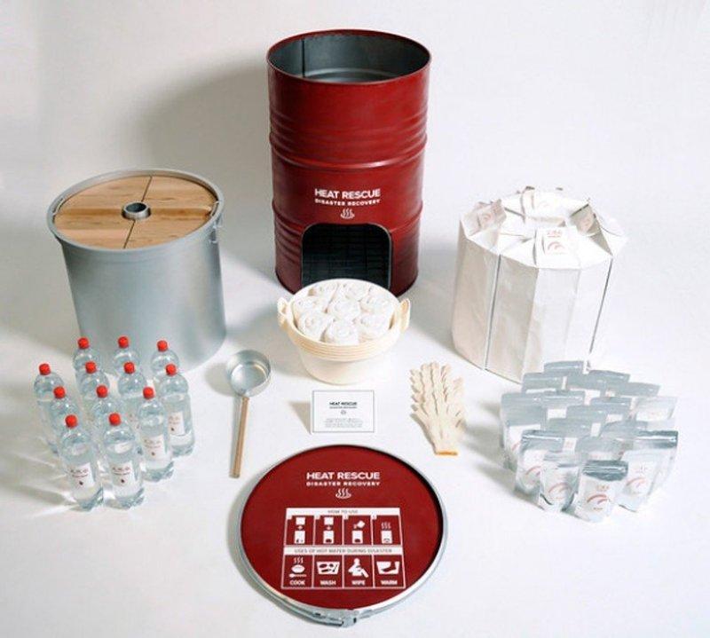 Heat-Rescue-Disaster-Recovery-Set-Un-barril-y-kit-de-supervivencia