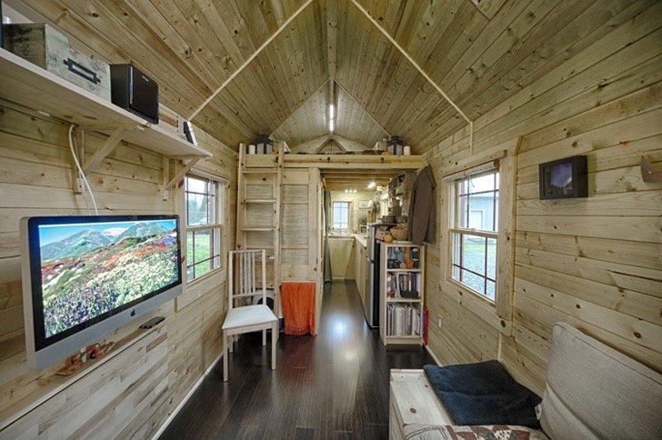 บ้านที่สร้างแบบ DIY พื้นที่ 13 ตรม. มีครบทั้งห้องนั่งเล่น ครัว ห้องน้ำ ห้องนอน 13 - small space