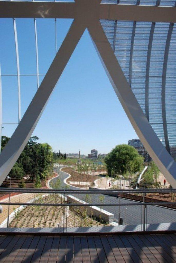 mar.mad apr 11 040 Madrid Rio Project ปรับปรุงพื้นใหม่ให้เป็นพื้นที่สีเขียวกับวิถีที่ยั่งยืน