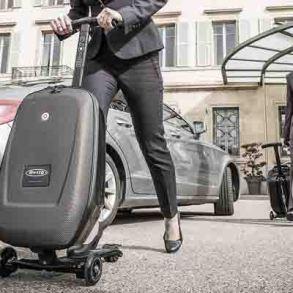 Micro Luggage Scooter กระเป๋าเดินทางด้วยระบบสกูตเตอร์ 18 - Luggage