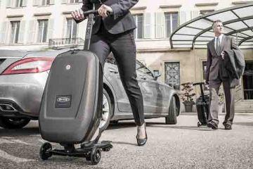 Micro Luggage Scooter กระเป๋าเดินทางด้วยระบบสกูตเตอร์ 2 - scooter