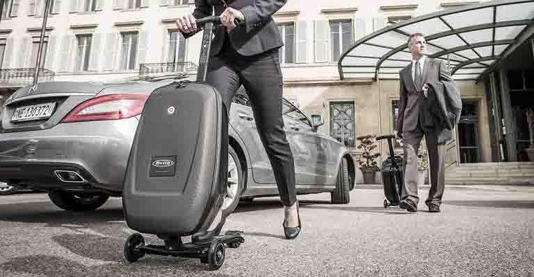 Micro Luggage Scooter กระเป๋าเดินทางด้วยระบบสกูตเตอร์ 14 - scooter